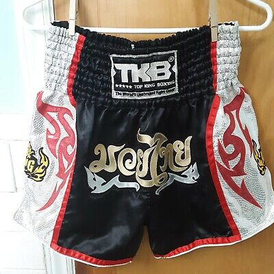 Top King Kickboxing MMA Muay Thai Boxing Shorts Trunks Fighting Training Gear XL