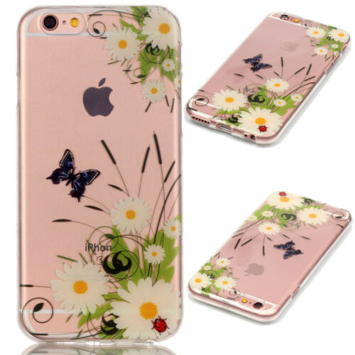 Ultra Slim Rubber Soft TPU Silicone Back Case Cover For Apple iPhone 7 8/6s Plus