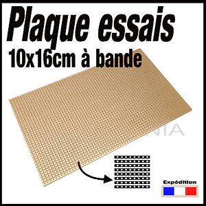 922c plaque d 39 essais bande format 16x10cm breadboard pcb ebay. Black Bedroom Furniture Sets. Home Design Ideas