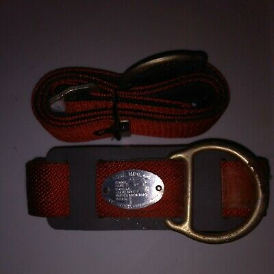 New Rose Mfg Co Lineman Safety Climbing Belt Model 502516 With Extras Nos