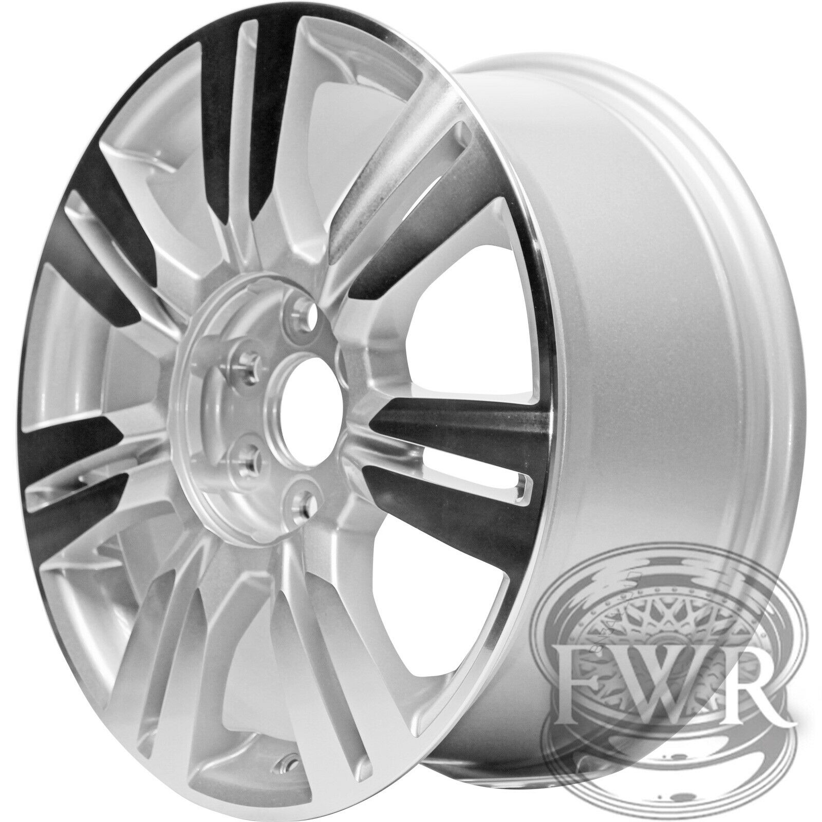 "New 18"" Machined Silver Alloy Wheel Rim For 2010-2016"
