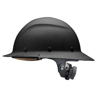 Lift Safety Hdfm-17kg Dax Carbon Fiber Full Brim Hard Hat Matte Black
