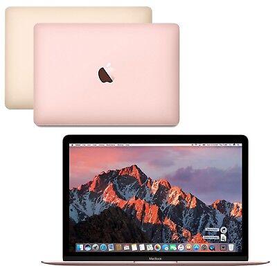 """NEW Apple MacBook 12"""" Intel i5 512GB SSD 8GB RAM Retina Display Mac OS Sierra"""