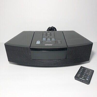 Bose Wave Radio CD Player Alarm Clock AWRC-1G TESTED w/ Remote