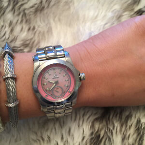 Pink Reactor women helium watch