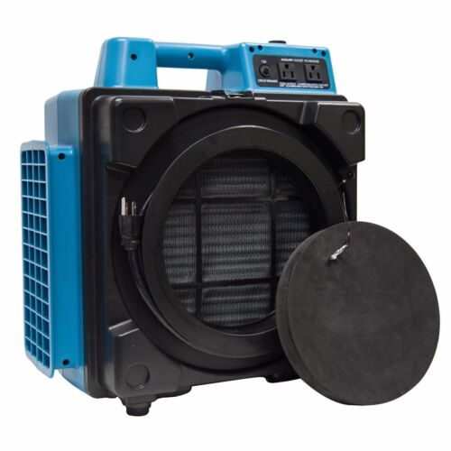 XPOWER X-2480A Professional 3 Stage Filtration HEPA Purifier Mini Air Scrubber