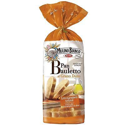 1 x PAN BAULETTO AL GRANO DURO MULINO BIANCO PANE A FETTE 400 GR CON OLIO OLIVA