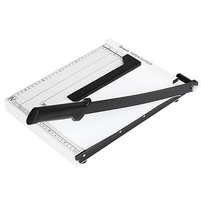 Paper Cutter A4--b7 Metal Base Guillotine Page Trimmer Blade Scrap White