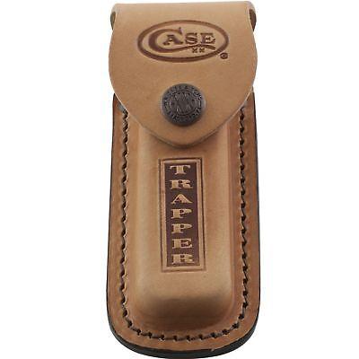 Pocket Knife Sheath - Case XX Brown Leather Trapper Pocket Knife 5