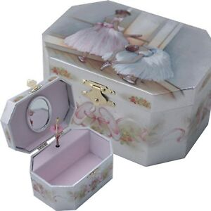 Ballerina Jewelry Music Box- Wooden material/ Perfect gift/ Fine art/ Craft