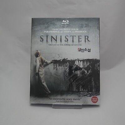 Sinister .Blu-ray w/ Slipcover / Ethan Hawke