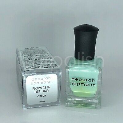 - Brand New Deborah Lippmann Nail Polish - Flowers in Her Hair - Full Size