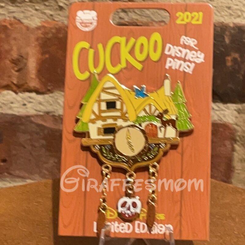 Disney Parks 2021 Cuckoo for Disney Pins LE Snow White