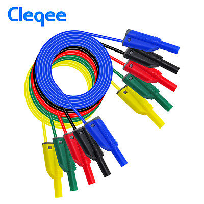 P1050-1 High Quality 4mm Banana Plug Safety Stack Test Lead Soft Silicone Wire