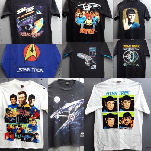 Vintage 1990s Star Trek T-Shirt Collection- Your Choice of Design (M-7227-AP)
