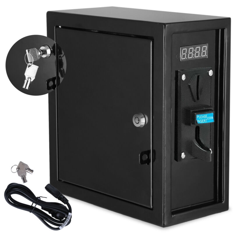 Coin Operated Timer Power Controlled Supply Box Electronic Timer Device 110v
