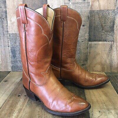 TONY LAMA Vintage Cowboy Western Boots 5084 Mens 10.5 E
