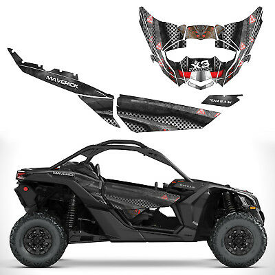 Can Am Maverick X3 Body Armor Decal Graphic Kit Wraps 4x4 Off Road