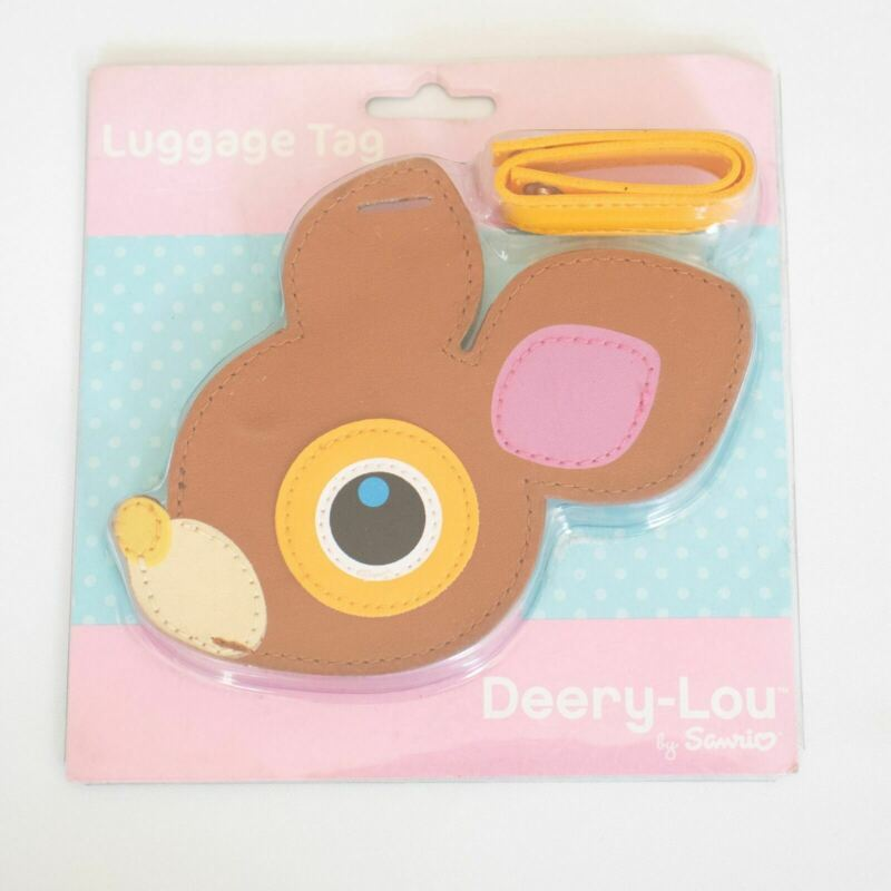 NEW Deery-Lou Luggage Tag Sanrio Travel ID Deer Deery Lou