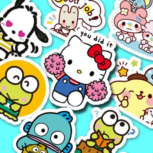 50 pc. Mystery Pack SANRIO Stickers, Journal Stickers, Kawaii Stickers [USA]