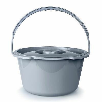 McKesson 146-11106 Commode Bucket 7.5 Quart With Metal Handl