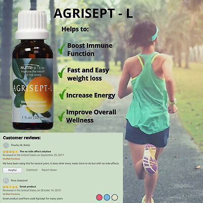 Nutri-Diem Agrisept-L / Agrumax Dietary Supplement (1 fl.oz) 1