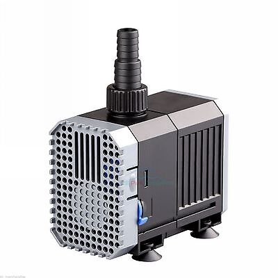 400 GPH Adjustable Submersible Pump Aquarium Fish Tank Fountain Water Hydroponic