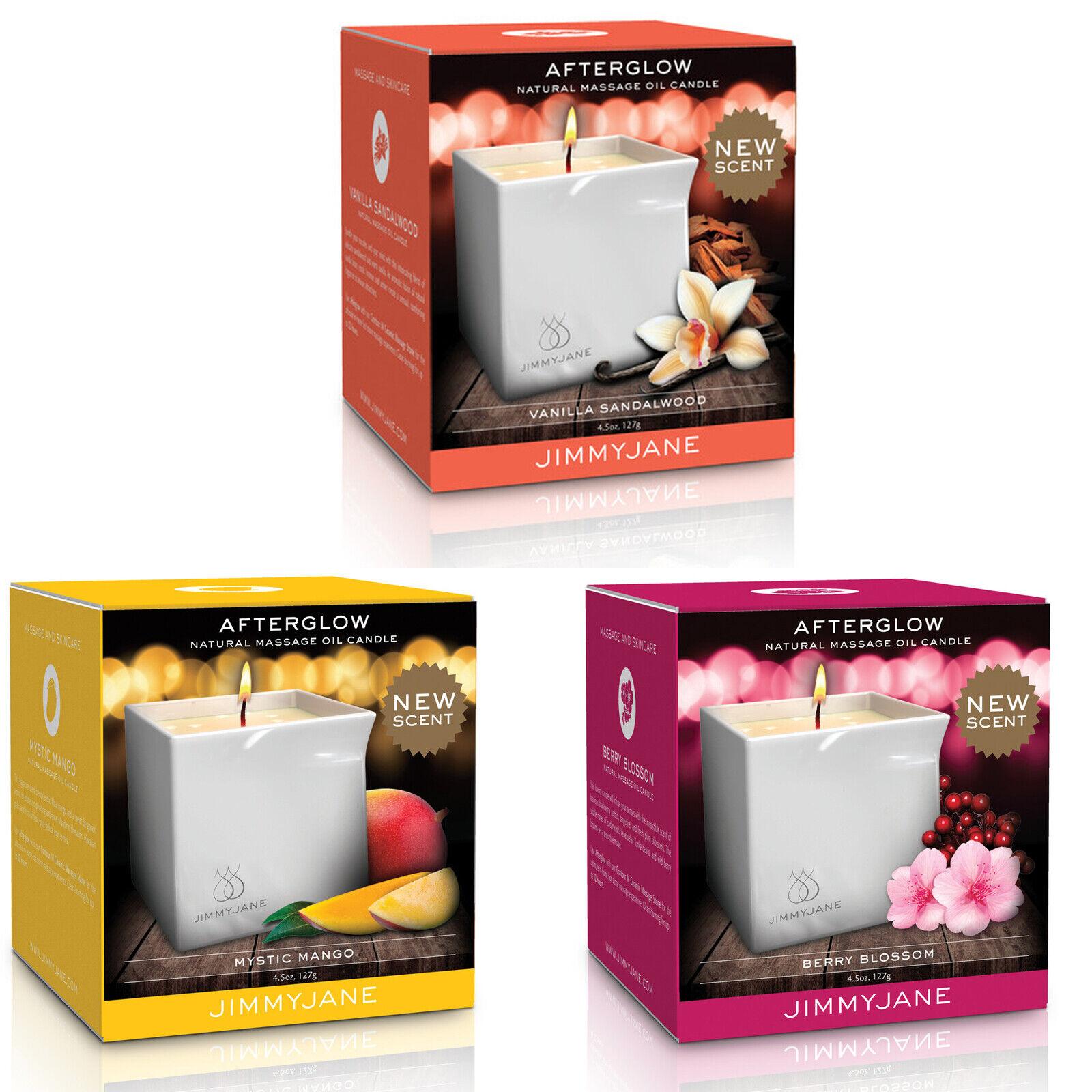 JimmyJane Afterglow Massage Candle Vanilla Sandalwood Berry