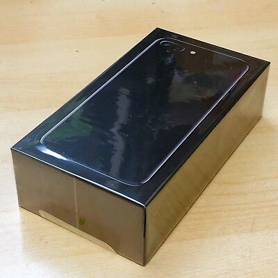 New Sealed in Boxed Apple iPhone 7 Plus 32GB Jet Angry AT&T A1784 1 Yr Warranty