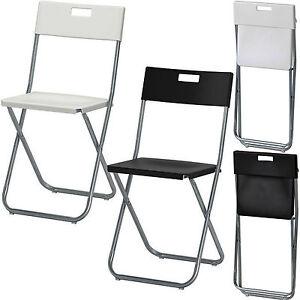 ikea folding chair camping garden home rest office back. Black Bedroom Furniture Sets. Home Design Ideas