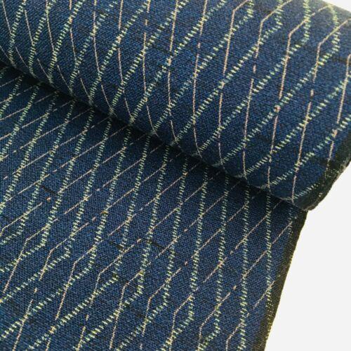 Blue Fairy Wool UnUsed Bolt BY THE YARD Japanese Kimono Fabric High Quality BW15