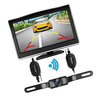 iStrong Backup Camera Wireless and Monitor Kit Waterproof Li