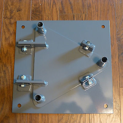 HAM RADIO Hinged Base plate Compatible with Rohn 25G tower
