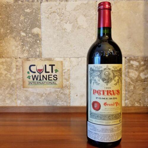 RP 94 pts! 1999 Chateau Petrus Pomerol Bordeaux wine