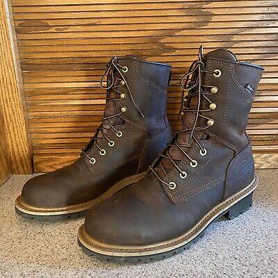 83834 Irish Setter Red Wing Shoes Mesabi Steel Toe Waterproof Work Boot 10.5