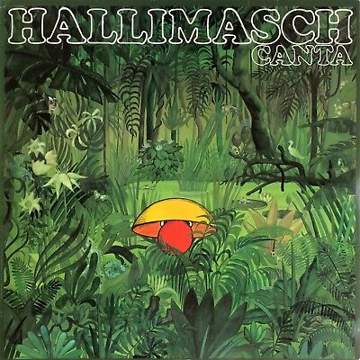 Hallimasch Canta 1981 Soul Latin Brazil Jazz Afrobeat PRIVATE PRESS F 667.399 LP