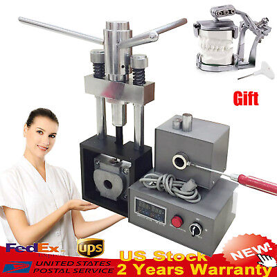 Usa 400w Dental Flexible Denture Injection System Machine Lab Equipment Heater