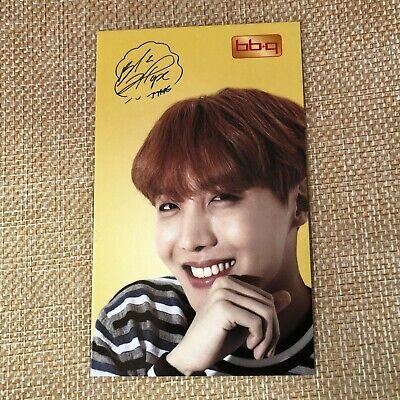 BTS J-HOPE  #2 Bangtan Boys / BBQ Official PhotoCard  / New / +Shop gift
