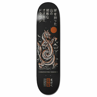 Element Timber Wolf Dragon 8.38 Inch Skateboard Part Deck - Multi All Sizes
