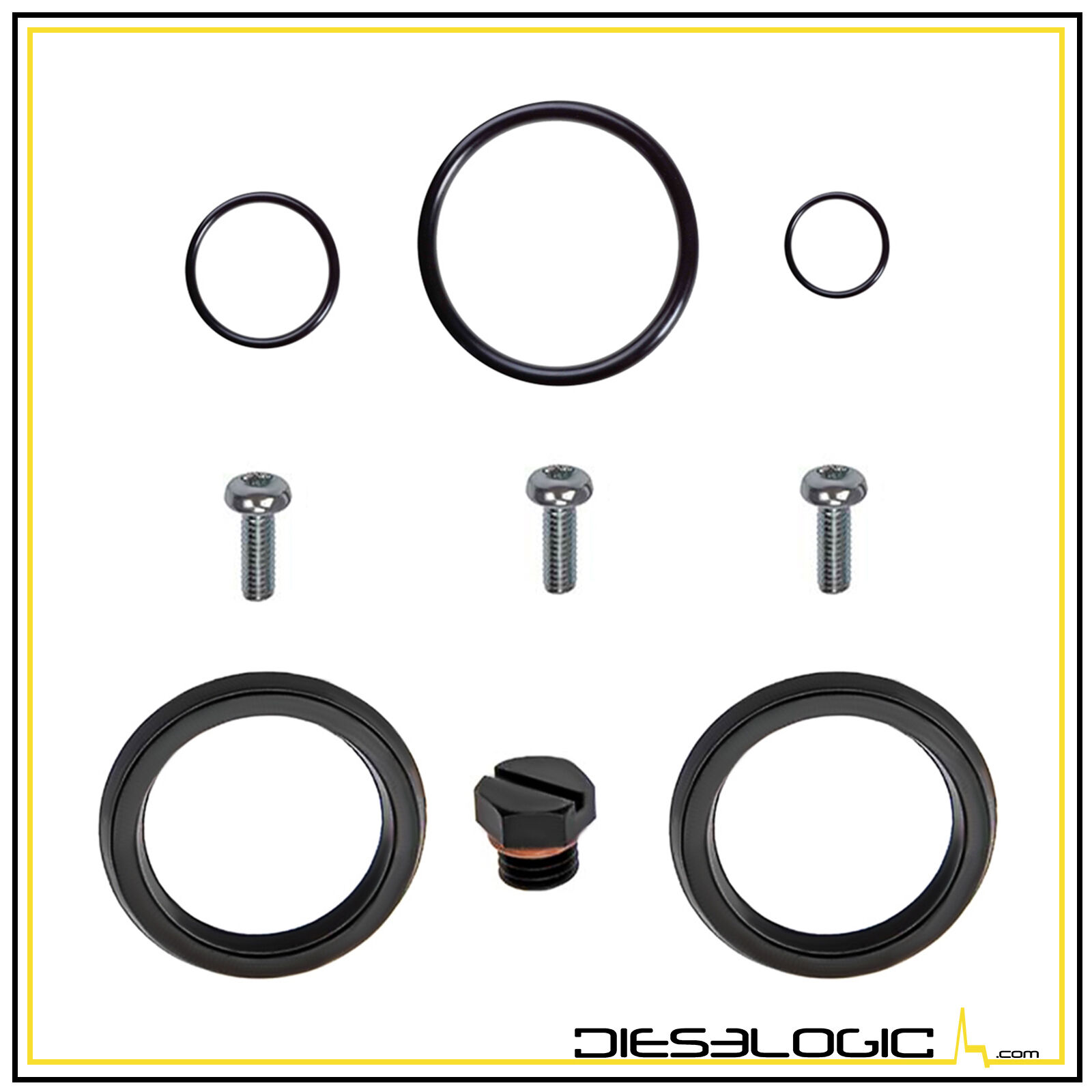 2001-2012 LB7 6.6L FUEL PRIMER HOUSING SEAL KIT FOR CHEVY