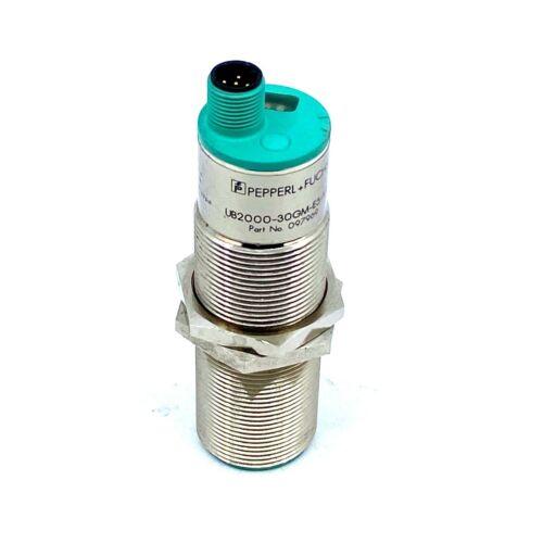 Pepperl+fuchs UB2000-30GM-E5-V15 Ultrasonic Sensor