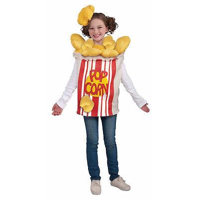 Popcorn Dress Costume (Forum Novelties Kids Child Kernel Popcorn Costume  )
