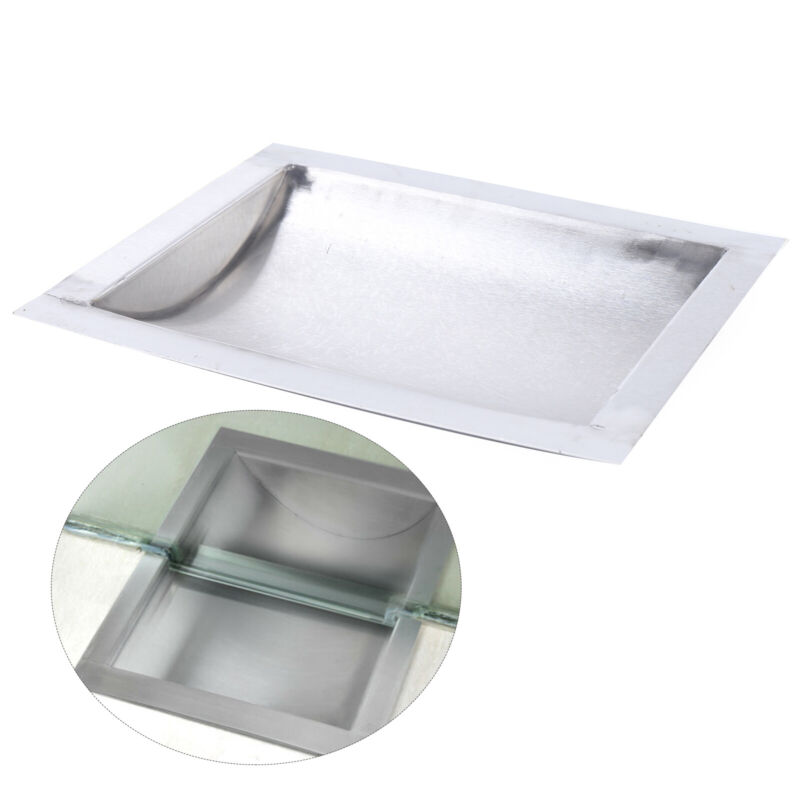 """Cash Window Drop-In Deal Tray Gas Station Banks 304 Stainless Steel 12"""" x 10"""""""