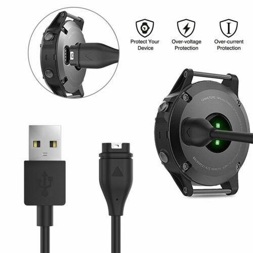 USB Charger Charging Cable Cord for Garmin Fenix 5/5S/5X Vivoactive 3 Vivosport