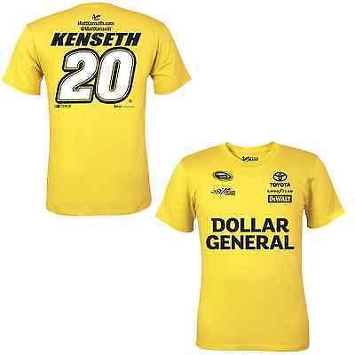 Matt Kenseth 2015 Chase Authentics  20 Dollar General Uniform Tee Free Ship
