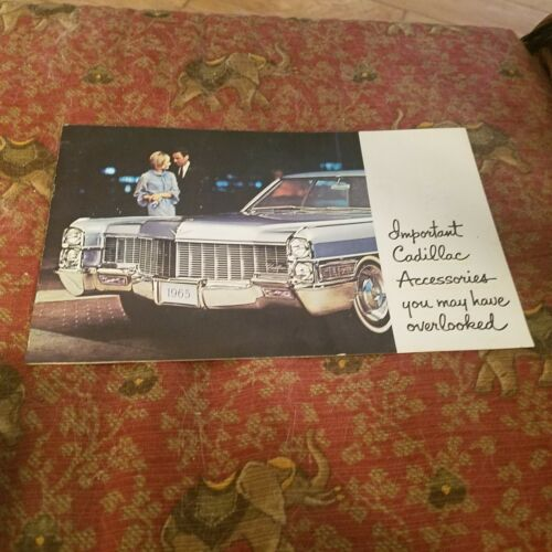1965 Cadillac  Accessory booklet.