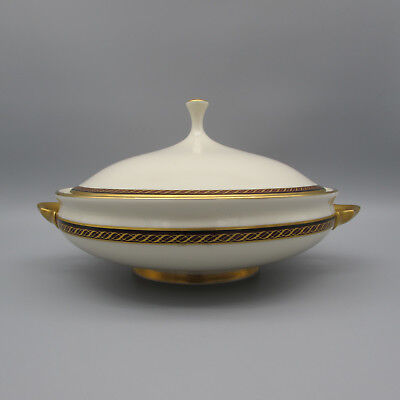 Lenox China MONROE Covered Serving Bowl Monroe Lenox China