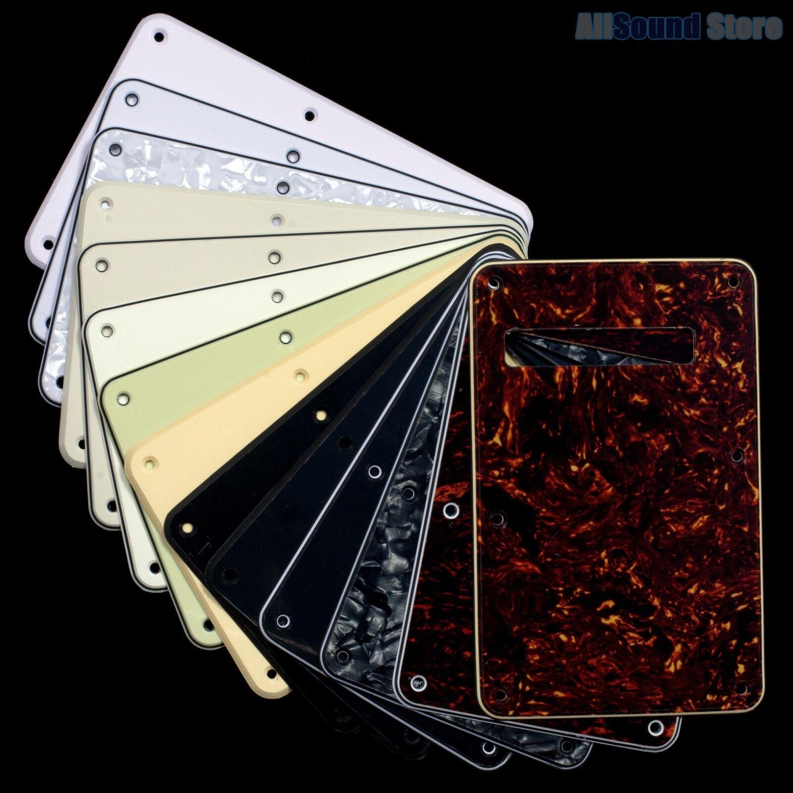 NEW - Tremolo Cover Back Plate for Fender® Stratocaster® Strat® USA MIM Standard