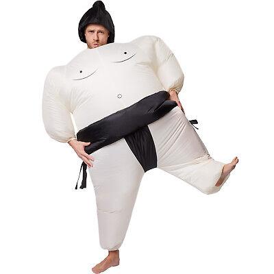 Selbstaufblasbares Unisex Kostüm Sumo-Ringer aufblasbar BlowUp Fasching Karneval Sumo-ringer Kostüm Aufblasbar