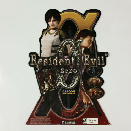 Resident Evil 0 Zero Counter Display Standee Promo Promotional Sign